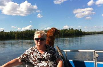 My Mom &the Toller
